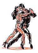 Sketched Dancers
