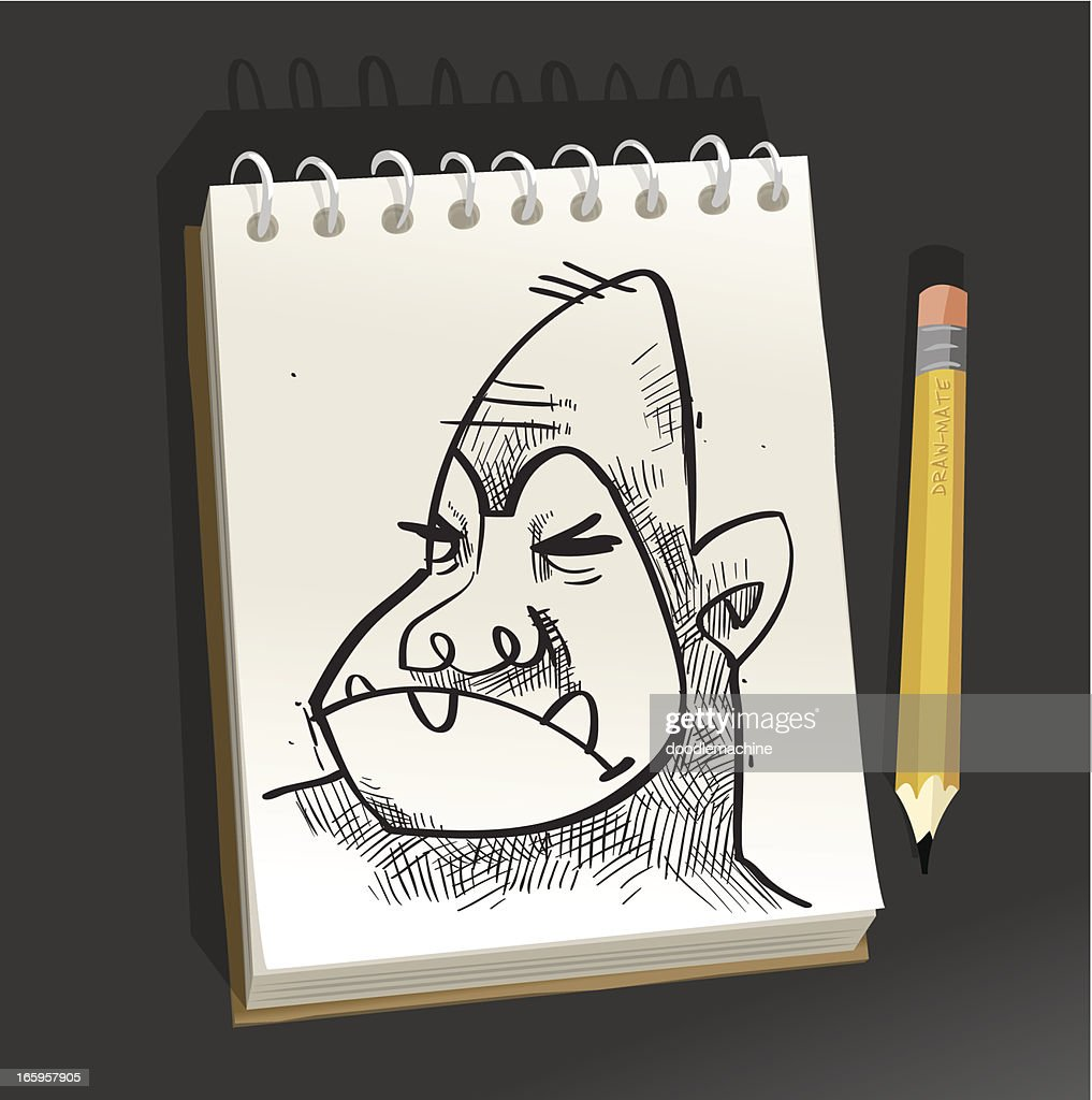 Sketchpad - Angry Monkey