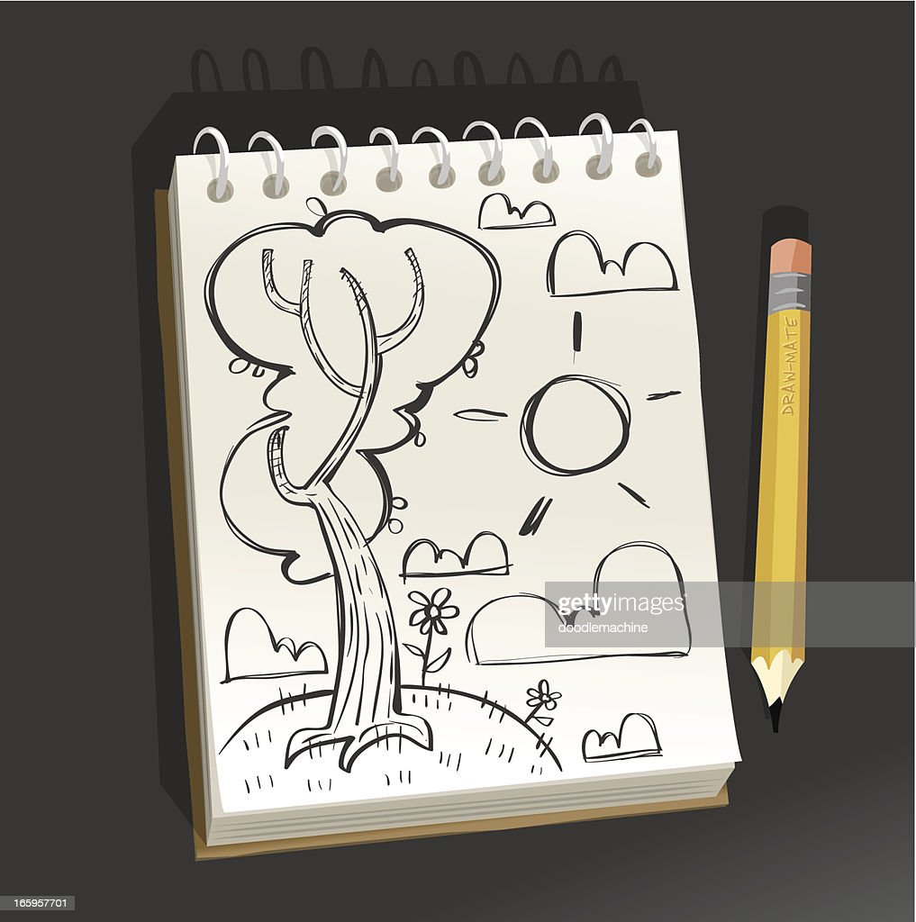 Sketchpad - Happy tree