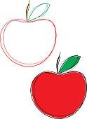 Sketchy Apples
