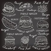 sketchy fast food illustrations.