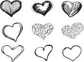 Sketchy Heart Set