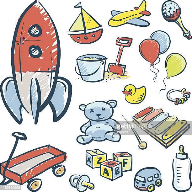 Sketchy toys