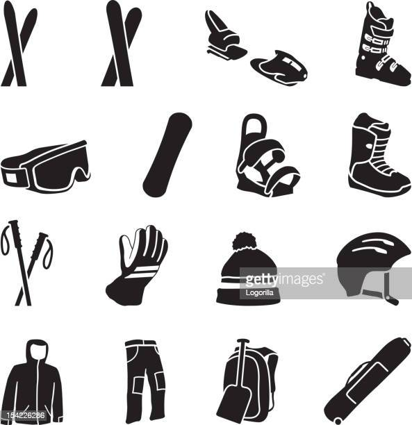 Ski Equipment icons