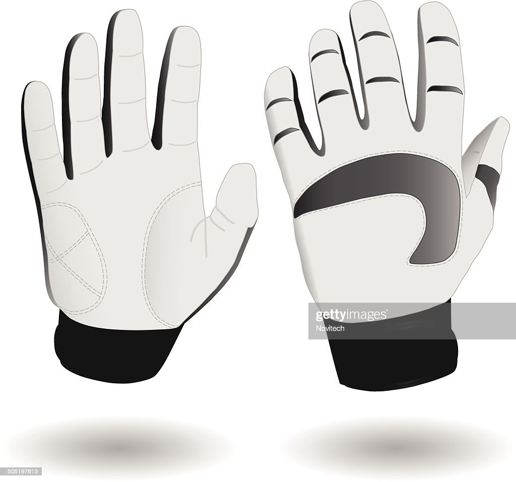 Ski gloves eps8