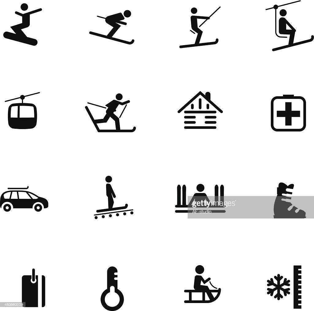 Ski resort Icons #7