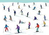 Skiiing fun