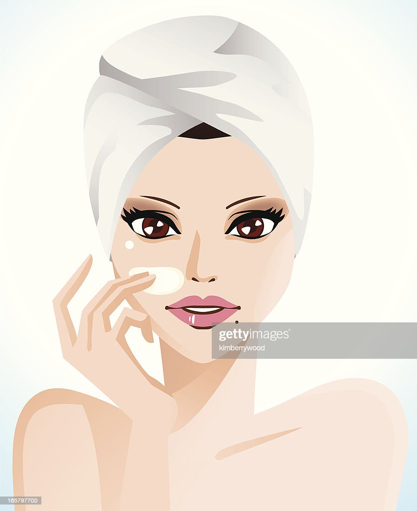 Skin Care : Stock-Illustration