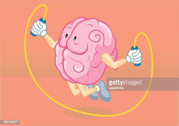 skipping mind - jump rope stock illustrations, clip art, cartoons, & icons
