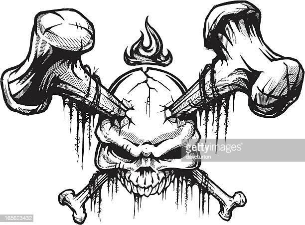 skull and Bones II B&W