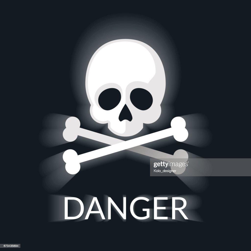 Skull and Bones illustration.