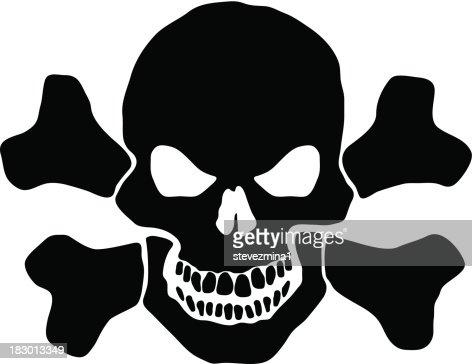 skull and cross bones vector art | getty images