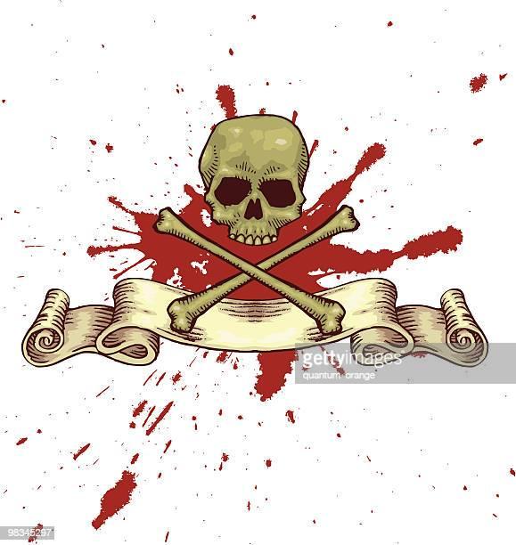 60点の血しぶきのイラスト素材クリップアート素材マンガ素材