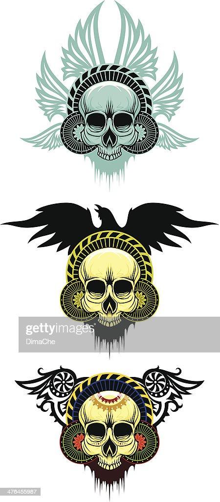 skull emblems