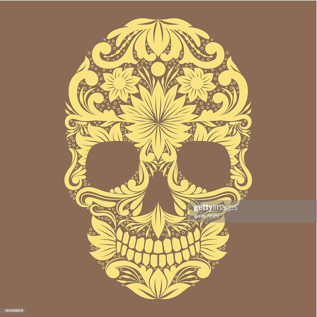 Skull Ornamental Flower