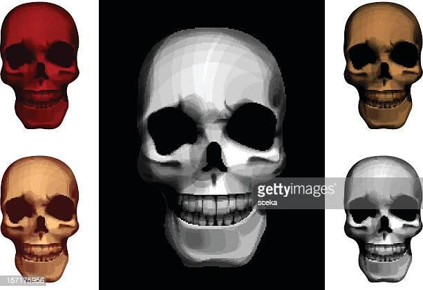 skull - punk person stock illustrations, clip art, cartoons, & icons