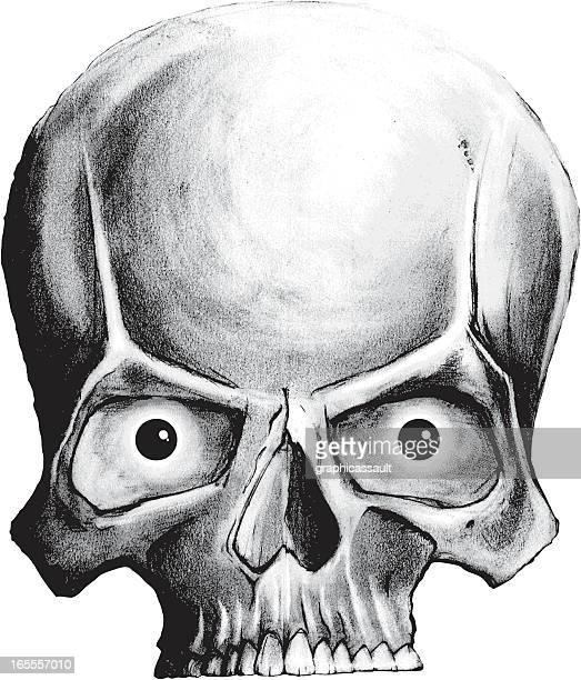 skull - music style stock illustrations, clip art, cartoons, & icons