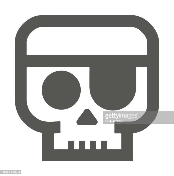 Skull With Eye Patch