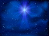 Sky and Christmas star