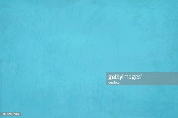 sky blue, aqua blue colored cracked effect bright wall texture vector background- horizontal - papyrus paper stock illustrations