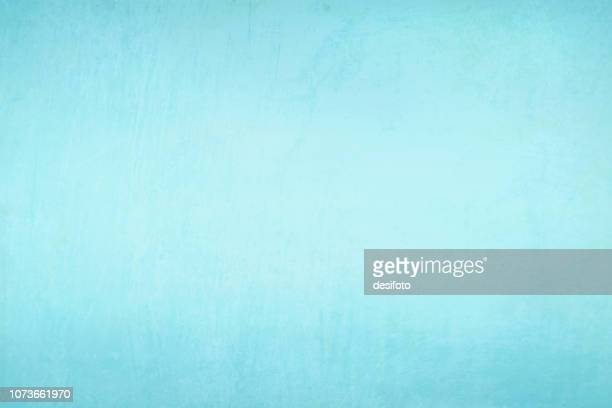 ilustrações de stock, clip art, desenhos animados e ícones de sky blue, aqua blue colored scratched effect bright wall texture vector background- horizontal - illustration - azul
