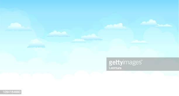 sky - cloud sky stock illustrations