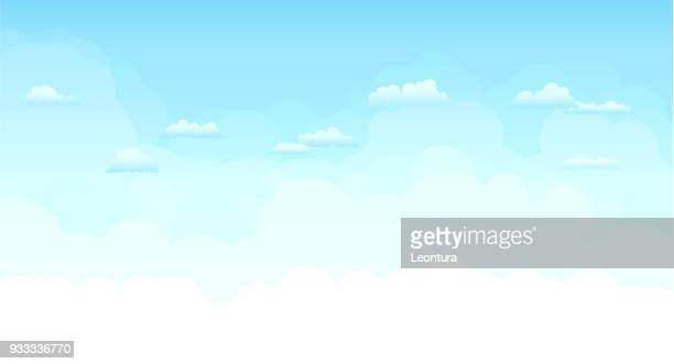 sky - cloudscape stock illustrations, clip art, cartoons, & icons