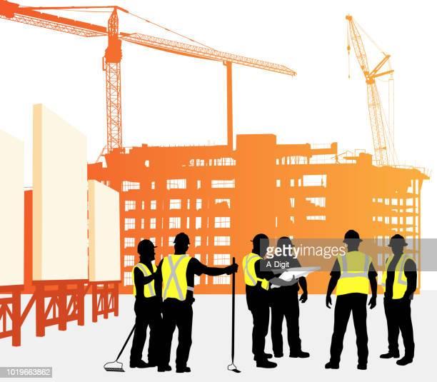 Skyrise bouw richtingen