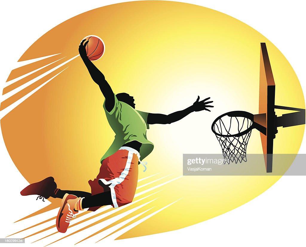 Slam Dunk : stock illustration