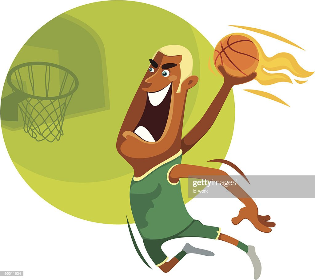 slam dunk : stock illustration