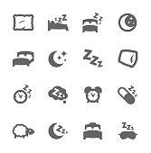 Sleep Well Icons