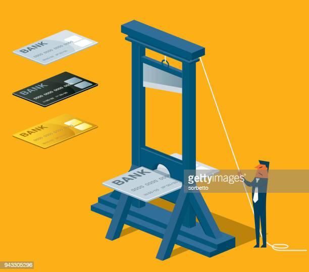 ilustraciones, imágenes clip art, dibujos animados e iconos de stock de tarjeta de crédito del sector - matadero