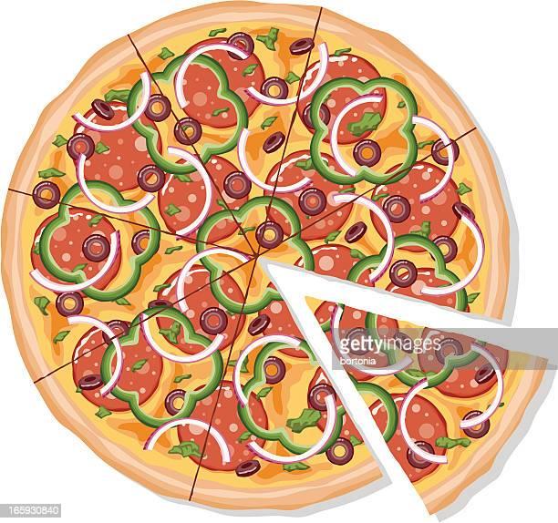 Rodajas de Pizza de lujo