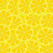 Slices of lemon texture
