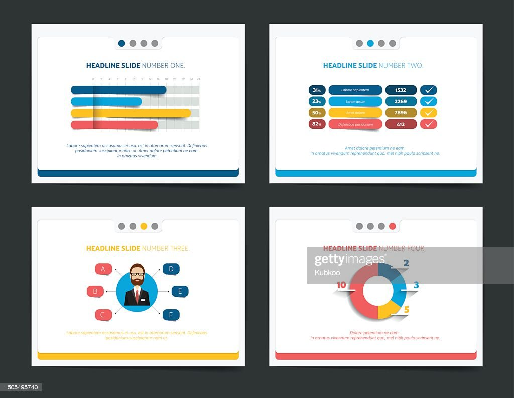 Slide business templates. Infographics for leaflet, poster, slide, magazine, book