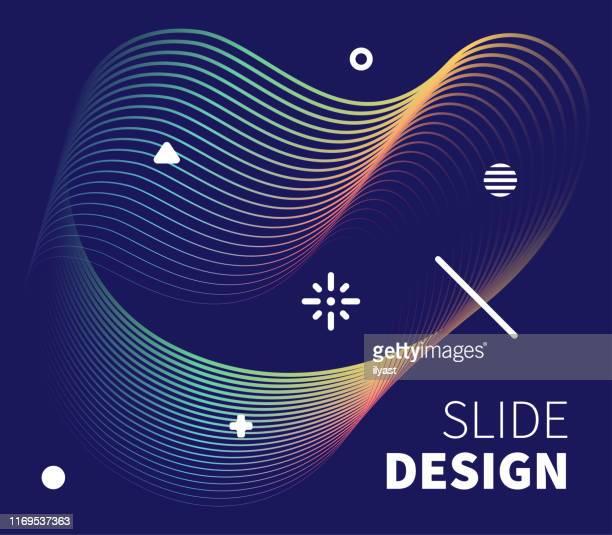 stockillustraties, clipart, cartoons en iconen met slide design & creatief holografische design - aanvraagformulier