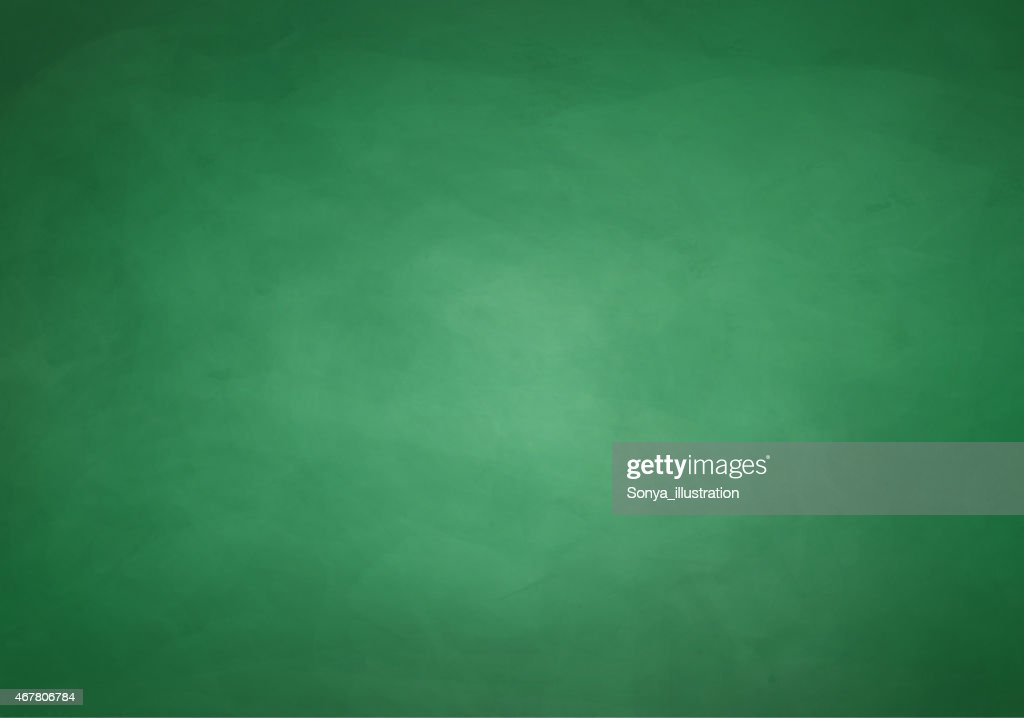 A slightly scratched blank green chalkboard background