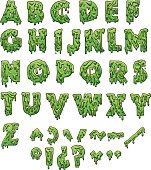 Slime letters