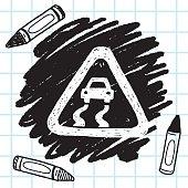 Slippery when wet doodle