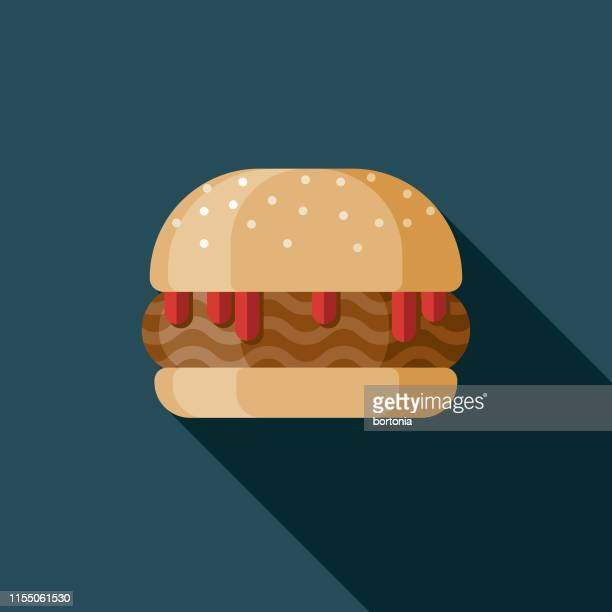 sloppy joe sandwich icon - sloppy joe, jr stock illustrations