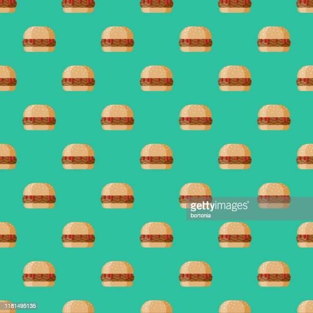 ilustrações, clipart, desenhos animados e ícones de teste padrão desleixado do sanduíche de joe - sloppy joe, jr