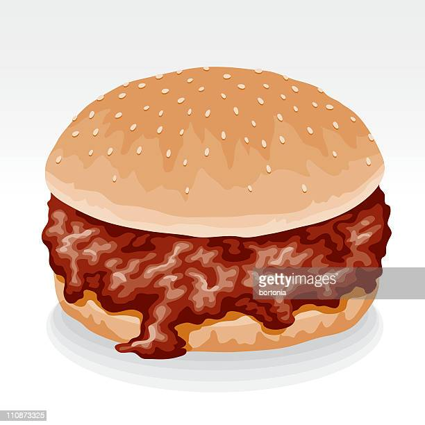 sloppy joe sandwich - sloppy joe, jr stock illustrations