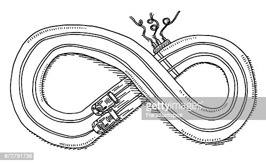 how to draw a race car track