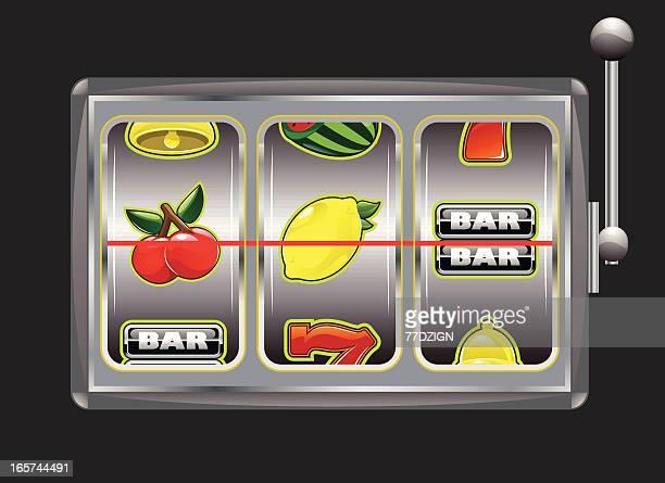 slot machine element - slot machine stock illustrations, clip art, cartoons, & icons
