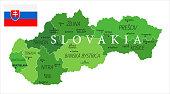 15 - Slovakia - Green Isolated 10