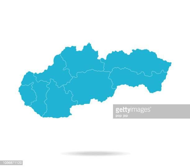 40 - slovakia - lava blue empty q10 - slovakia stock illustrations