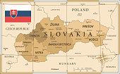 25 -Slovakia - Vintage Golden 10