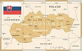 22 - Slovakia - Vintage Golden Dark 10