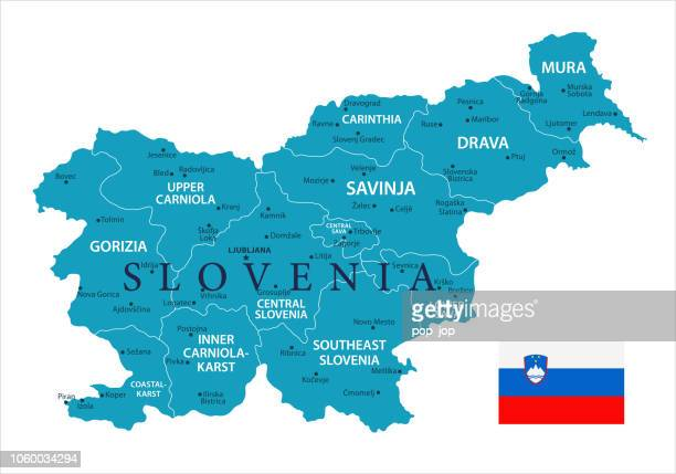 ilustraciones, imágenes clip art, dibujos animados e iconos de stock de 11 - eslovenia - murena aislada 10 - kranj