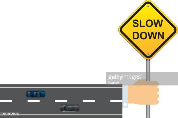 slow down - slow stock illustrations, clip art, cartoons, & icons